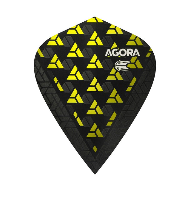 Agora Ultra Ghost + Yellow Kite Dart Flights by Target