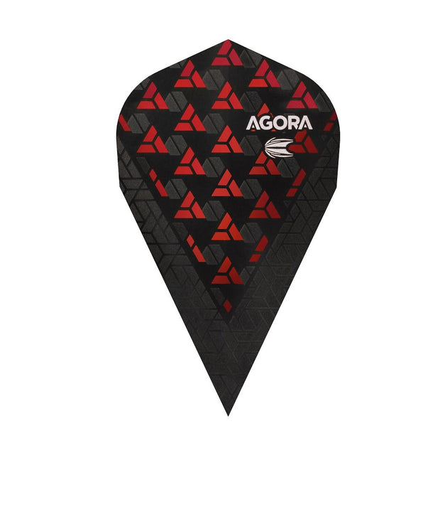 Agora Ultra Ghost + Red Vapor Dart Flights by Target