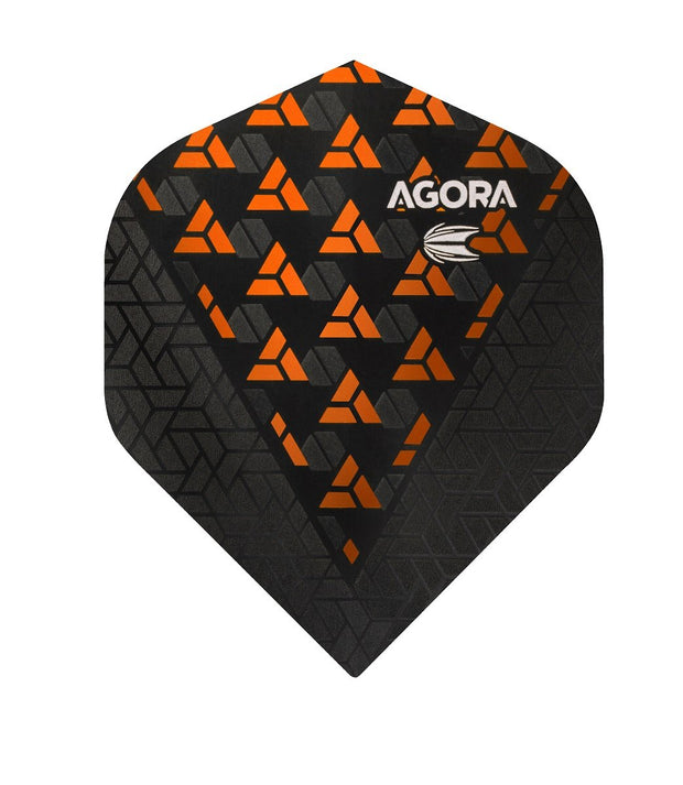 Agora Ultra Ghost + Orange No2 Dart Flights by Target