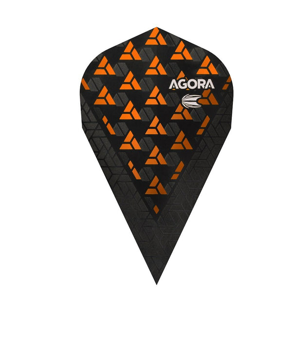 Agora Ultra Ghost + Orange Vapor Dart Flights by Target