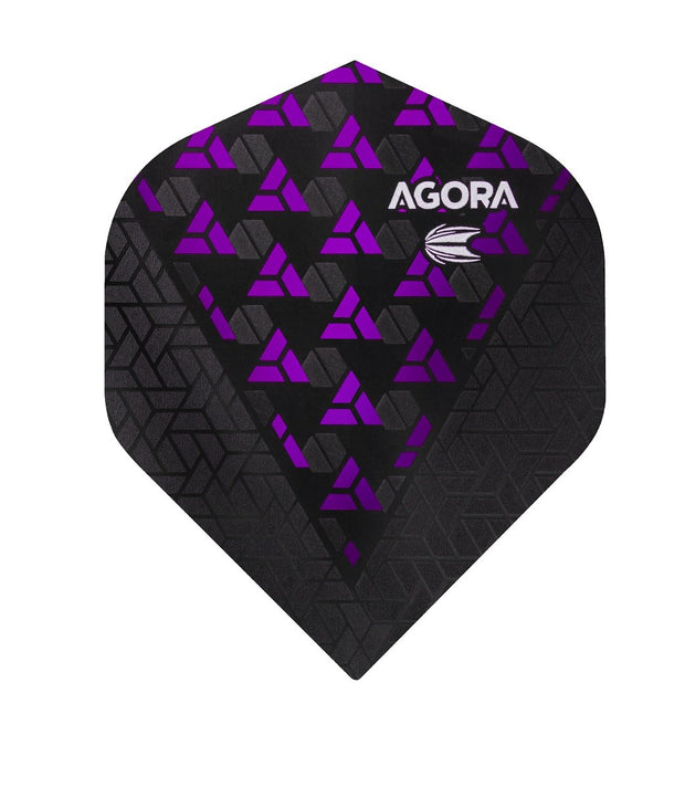 Agora Ultra Ghost + Purple No2 Dart Flights by Target