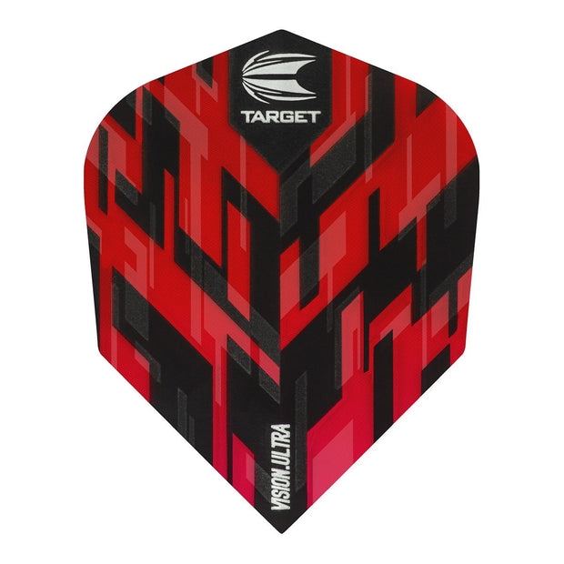Sierra Vision Ultra Red No6 Dart Flights by Target