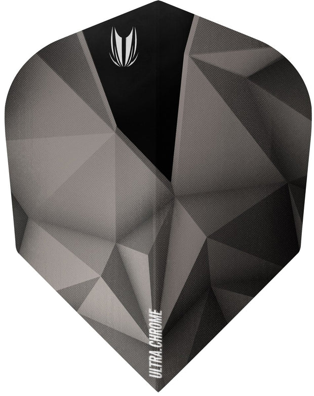 Shard Ultra Chrome Anthracite No6 Dart Flights by Target