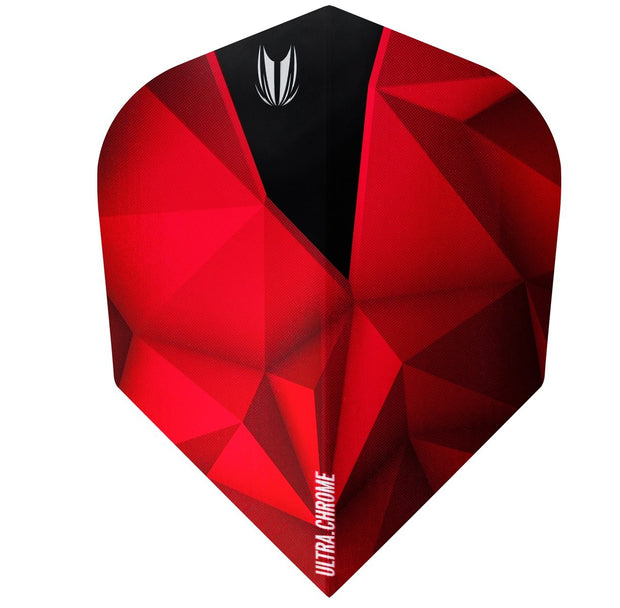Shard Ultra Chrome Crimson No6 Dart Flights by Target