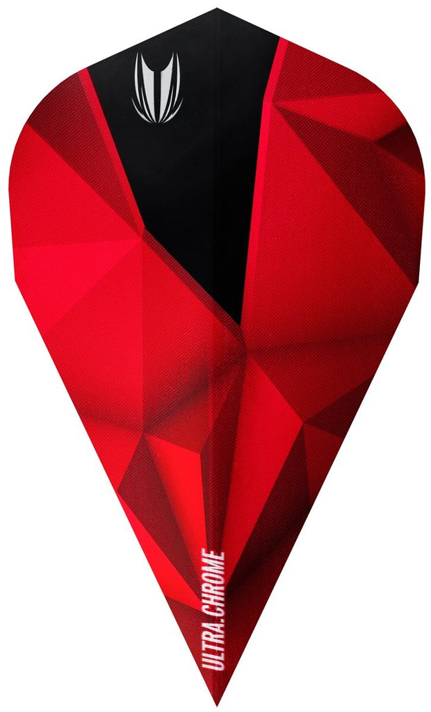 Shard Ultra Chrome Crimson Vapor Dart Flights by Target