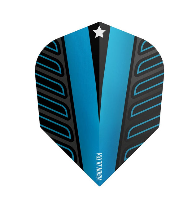 Target Blue No6 Voltage Vision Ultra Dart Flights