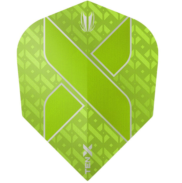TEN-X Lime Green Vision Ultra Dart Flights by Target