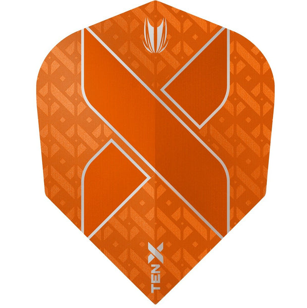 TEN-X Orange Vision Ultra Dart Flights by Target