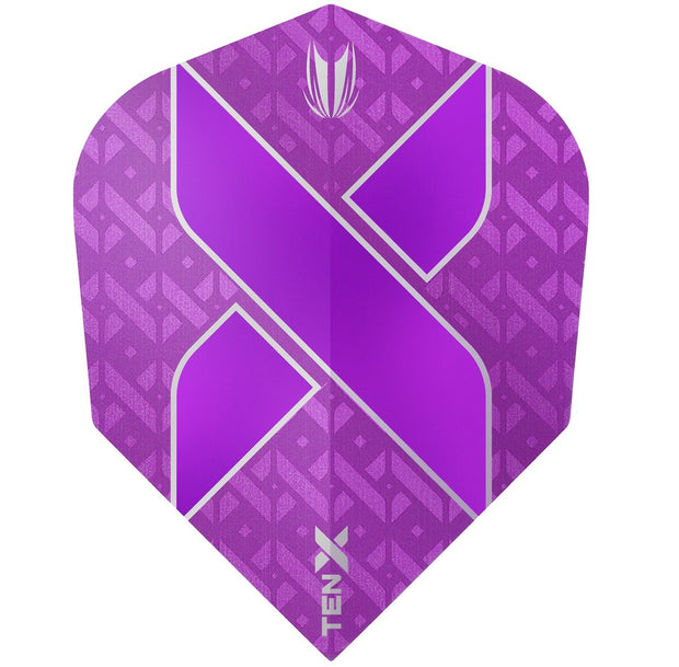 TEN-X Purple Vision Ultra Dart Flights by Target