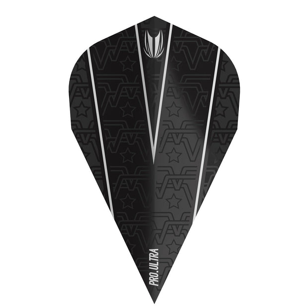 Rob Cross Voltage Pro 100 Vapor Vision Ultra Black Dart Flights