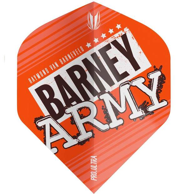 Raymond van Barneveld Barney Army No2 Pro 100 Ultra Dart Flights - Orange