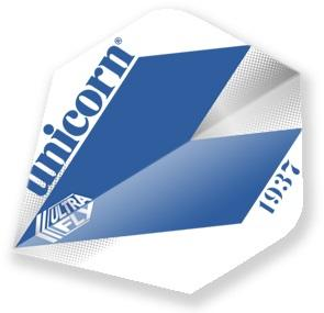 Unicorn Blue Comet Ultrafly Standard Shape Dart Flights