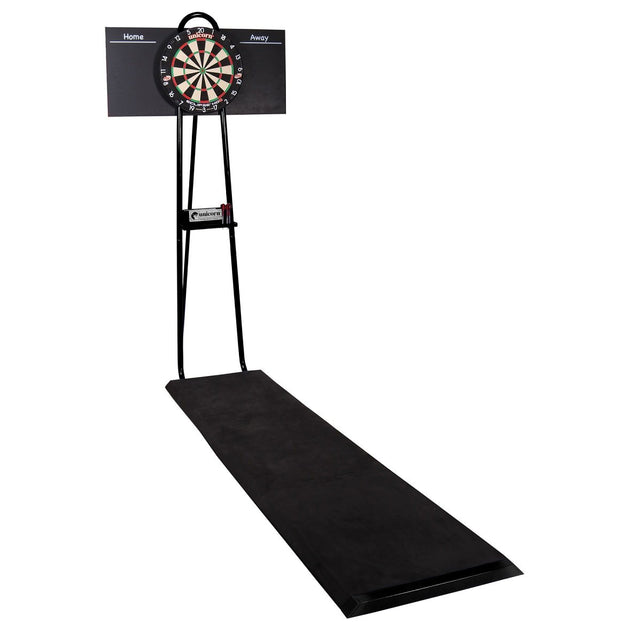 Unicorn Pro Dartmate 2 Free Standing Professional Dartboard Setup - Portable Stand with Raised Oche