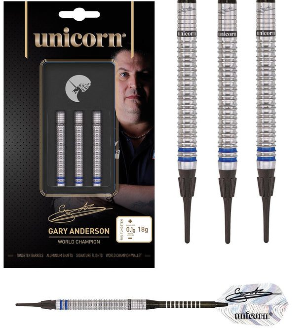 Gary Anderson Phase 3 World Champion Soft Tip Darts by Unicorn
