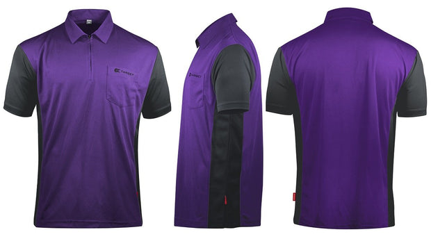 Hybrid 3 Purple / Grey Cool Play Breathable Dart Shirt / Shirts by Target
