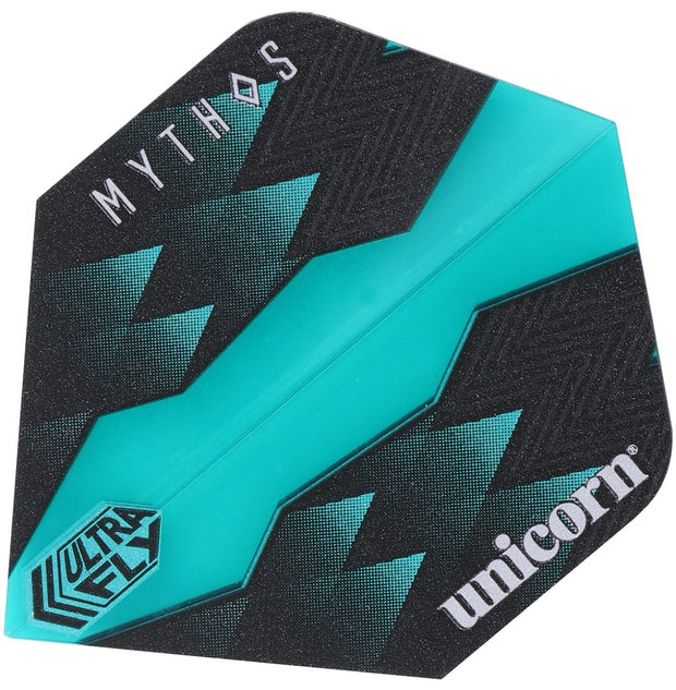 Unicorn Mythos Hydra Teal Ultrafly Standard Shape Dart Flights