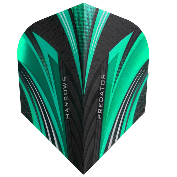 Harrows Predator Jade Standard Dart Flights