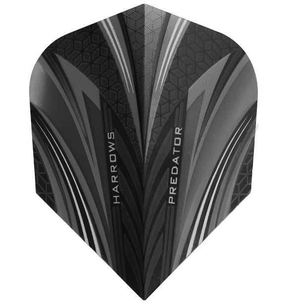 Harrows Predator Smokey Standard Dart Flights