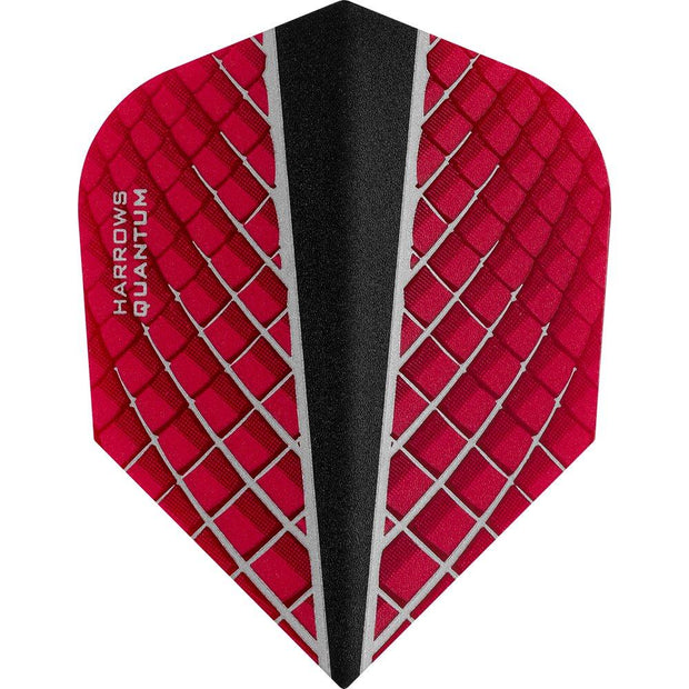 Harrows Quantum-X Red Dart Flights