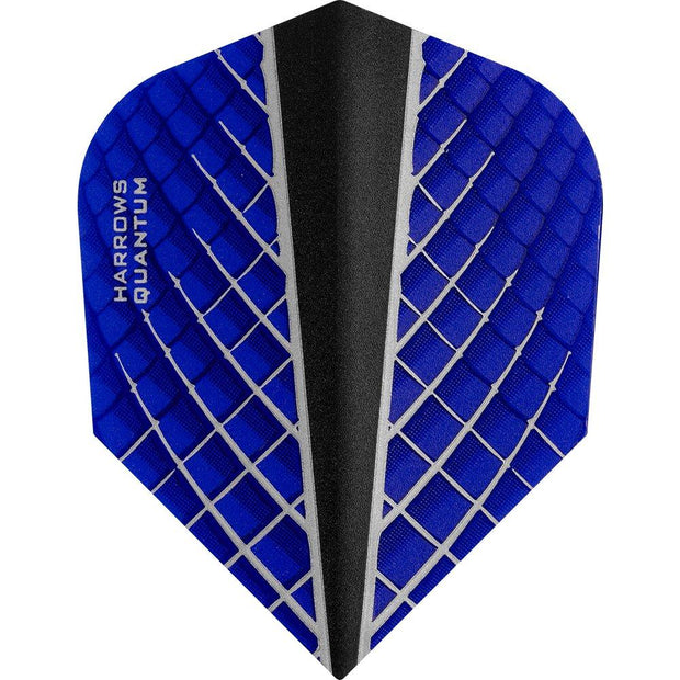 Harrows Quantum-X Blue Dart Flights