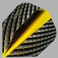 Harrows Quantum Yellow Dart Flights