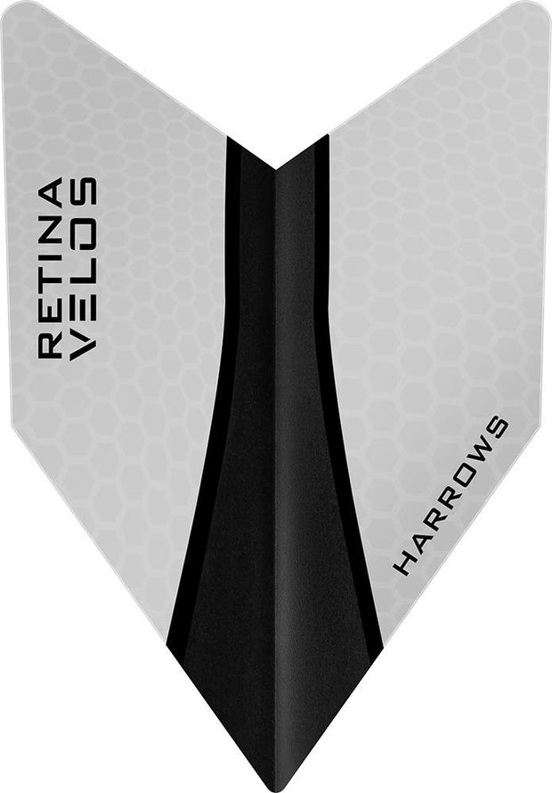 Harrows Velos Retina-X Clear Dart Flights