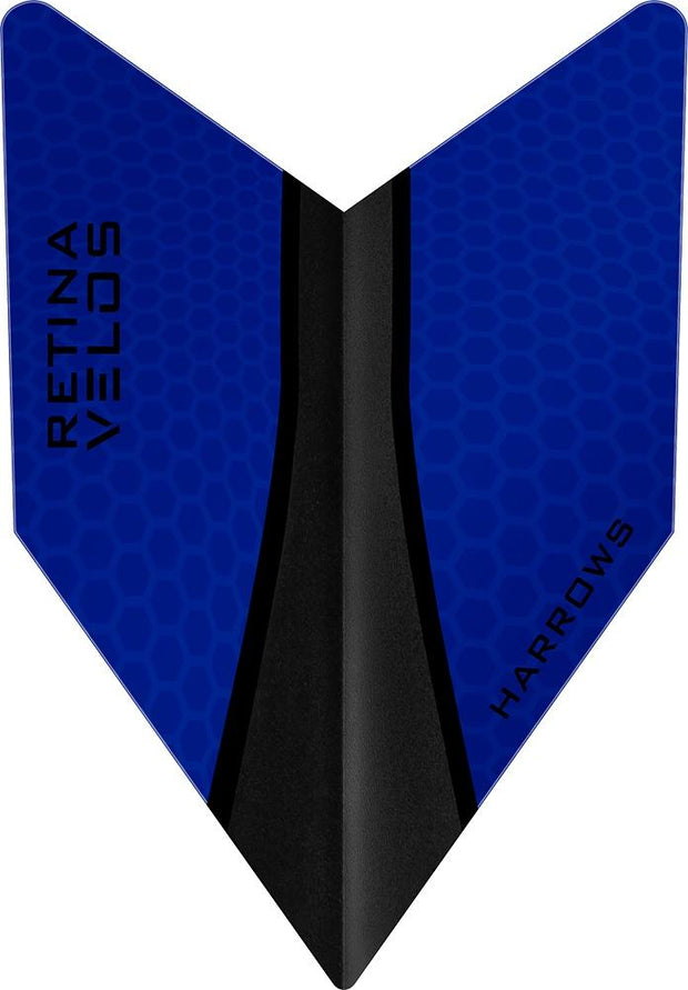 Harrows Velos Retina-X Dark Blue Dart Flights