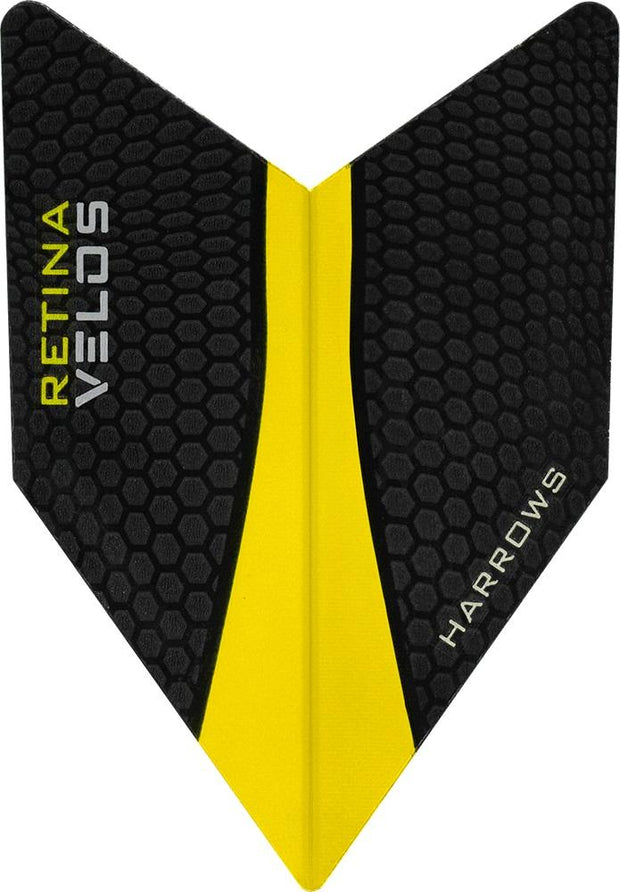 Harrows Velos Retina Yellow Dart Flights