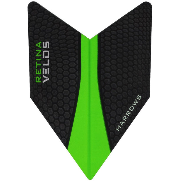 Harrows Velos Retina Green Dart Flights