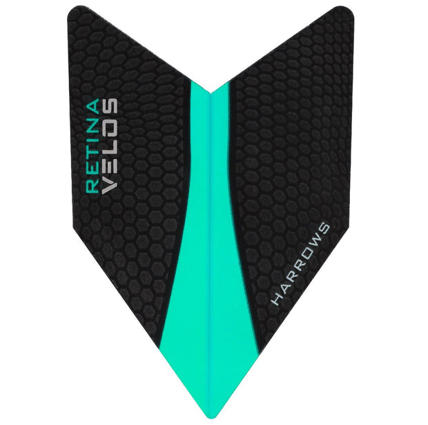 Harrows Velos Retina Jade Dart Flights