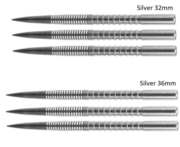 Target Firepoint Silver Replacement Dart Points