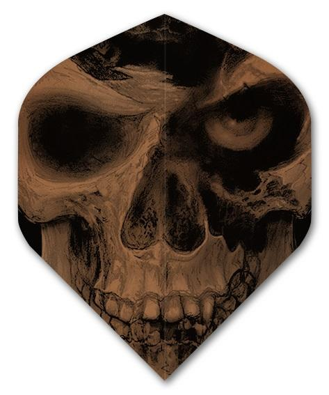 ALCHEMY  Pole Axed Skull 100 Micron Dart Flights