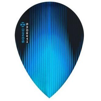 Harrows Sonic Pear Aqua Dart Flights