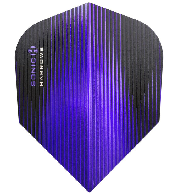 Harrows Sonic Standard Purple Dart Flights