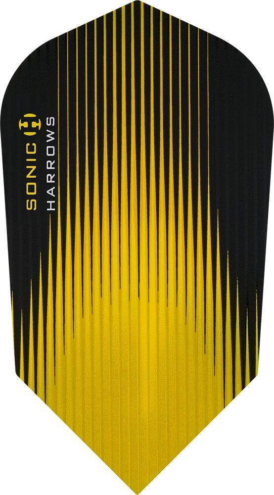 Harrows Sonic Slim Yellow Dart Flights