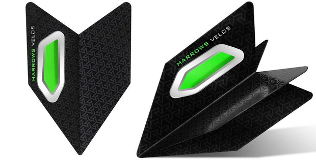 Harrows Velos Green Dart Flights