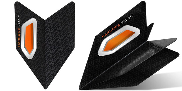 Harrows Velos Orange Dart Flights