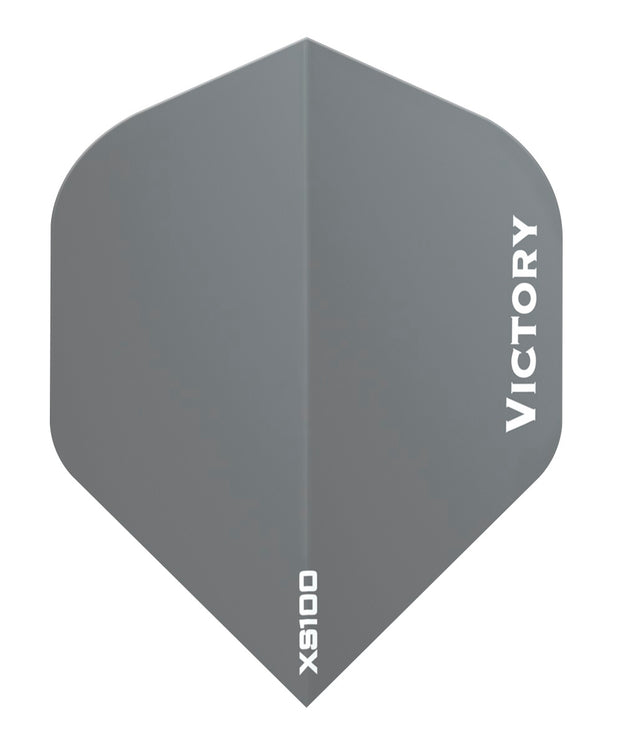 100 Sets Victory Darts XS100 Colours Grey Extra Strong Dart Flights