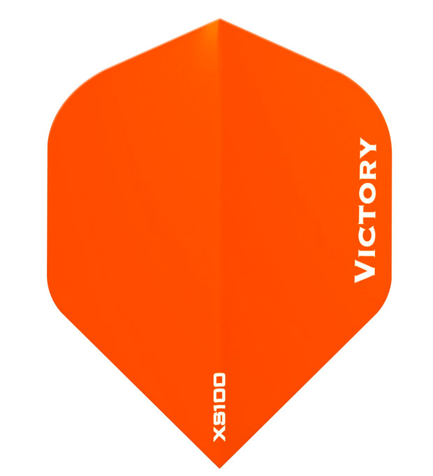 Victory Darts XS100 Colours Orange Extra Strong Dart Flights