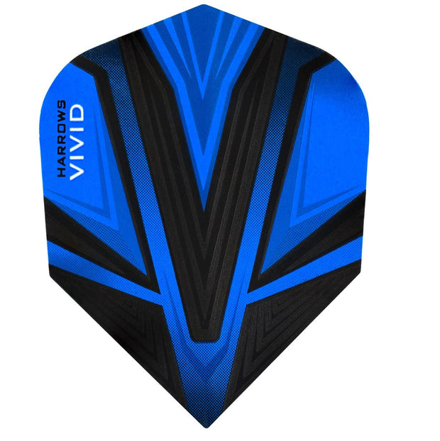 Harrows Vivid Blue Dart Flights