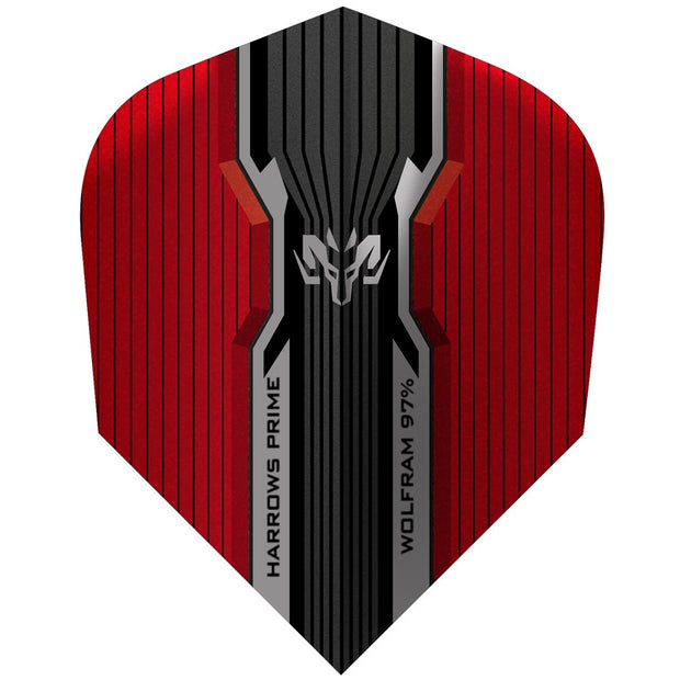 Harrows Wolfram Red Dart Flights