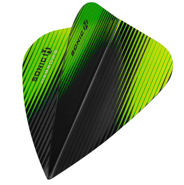 Harrows Sonic-X Kite Green Dart Flights