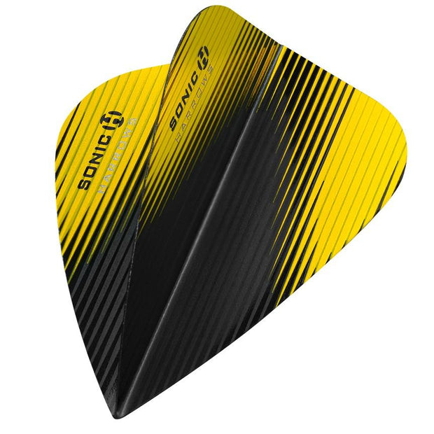 Harrows Sonic-X Kite Yellow Dart Flights