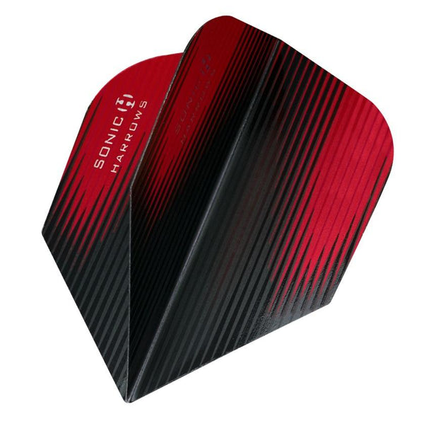 Harrows Sonic-X Standard Red Dart Flights