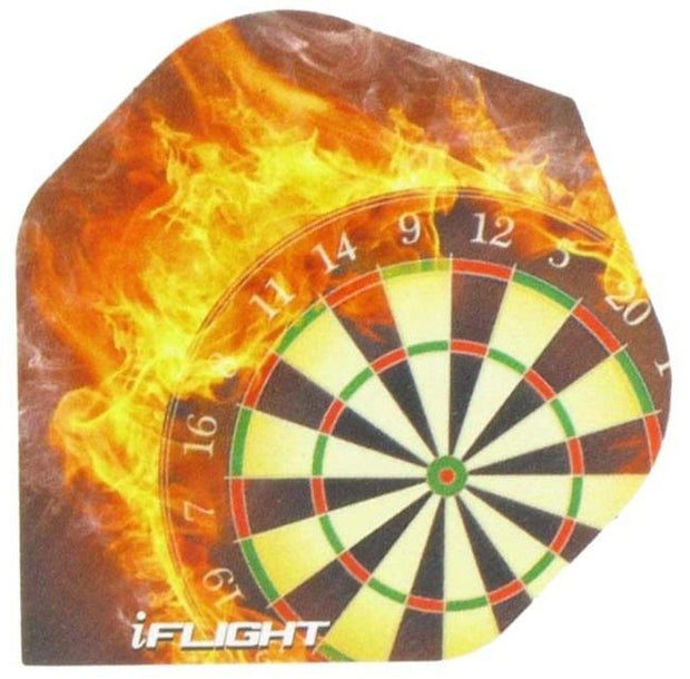 iFlight Dartboard Flames Dart Flights 100 Micron