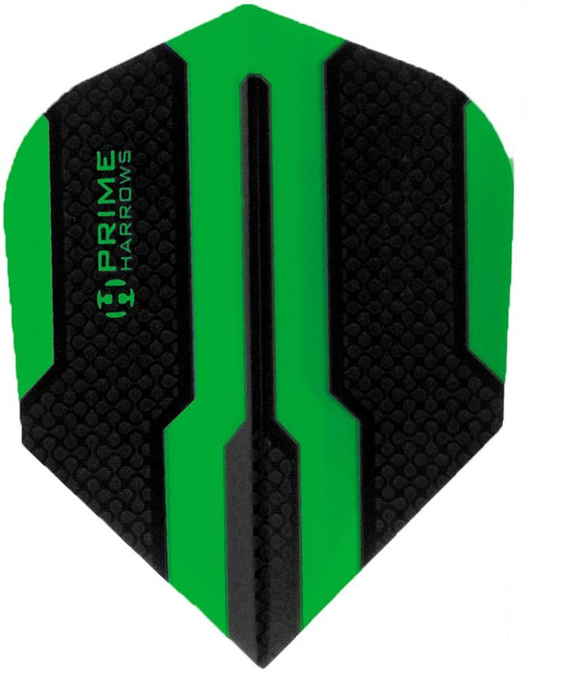 Harrows Prime Green Dual Zone Dart Flights