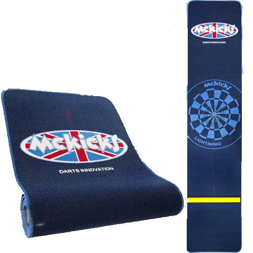 Mckicks Carpet Dart Mat with RAISED OCHE