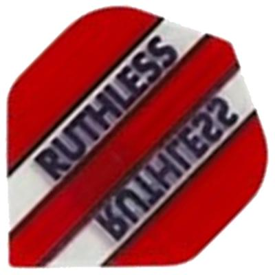 Ruthless Red and Clear Dart Flights