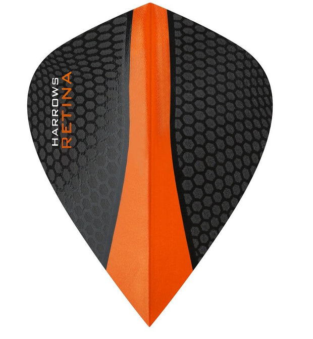 Harrows Retina Kite Orange Dart Flights