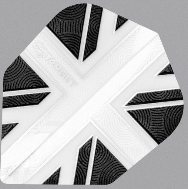 Pro 100 Vision UK Ultra Solid White  Dart Flights